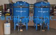 Sistema de Filtragem Industrial por Redução de Ferro 120 GPM - Peru