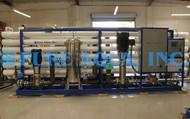 Sistema de Osmose Reversa de Água Salobra 2X 864,000 GPD - Canadá