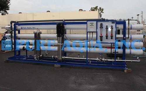 Sistema de Osmose Reversa para Água Salobra 173,000 GPD - Argélia