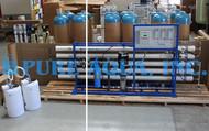Sistema de Osmose Reversa Comercial para Reduzir TDS - EUA