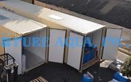 Sistema de Osmose Reversa de Tratamento de Água em Contentor 66,000 GPD - Líbia