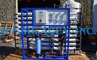 Sistema de Osmose Reversa de Dupla Passagem para Alimentação de Caldeira 27,000 & 12,000 GPD - EUA