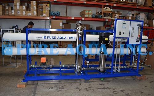 Conjunto Industrial de Osmose Reversa de Água Salobra 57,000 GPD - Sri Lanka