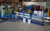 Equipamento Industrial de Osmose Reversa de Água Salobra 60,000 GPD - Belize