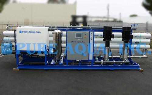 Equipamento de Osmose Reversa Industrial de Água Salobra 320,000 GPD - Egito