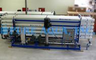 Máquinas Industriais de Osmose Reversa de Água Salobra 3 x 528,400 GPD - EAU