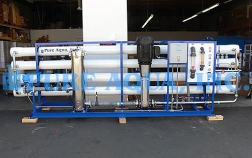 Unidade Industrial de Osmose Reversa de Água Salobra 144,000 GPD - USA