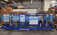 Sistema de Osmose Reversa Industrial de Água Salobra para Processamento de Alimentos 144,000 GPD - Peru