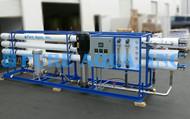 Aparelho Industrial de Osmose Reversa de Água Salobra 80 GPM - EUA
