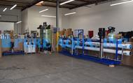 Máquina Industrial de Osmose Reversa de Água Altamente Salobra 87,000 GPD - Argélia