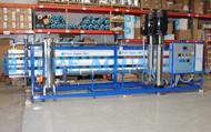 Sistema Industrial de Osmose Reversa de Água Altamente Salobra 130,000 GPD - Líbano