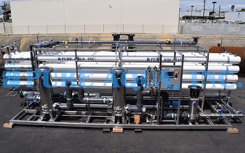 Planta de Osmose Reversa Industrial para Tratar Águas Residuais Reclamadas 400,000 GPD - Egito