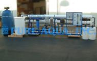 Sistema Industrial de Osmose Reversa 2 X 72,000 GPD - EUA