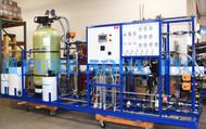 Pacote Industrial de Osmose Reversa com Sistema de EDI para Usinas 20 GPM - Angola