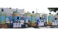 Sistema Industrial de Osmose Reversa 3x 43,000 GPD - Egito
