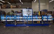 Sistema Industrial de Osmose Reversa da Água da Torneira para Alimentação de Caldeira 87,000 GPD - EUA