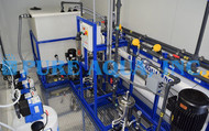 Sistema de Tratamento de Águas Residuais de Chorume de Aterro 40,000 GPD - Colômbia