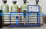 Sistema de Osmose Reversa de Água Salobra 22,000 GPD - EUA