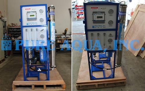 Unidades Comerciais de Osmose Reversa de Água Salobra 2 x 1,500 GPD - Polónia