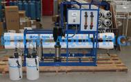 Máquina Comercial de Osmose Reversa de Água Salobra 43,000 GPD - Peru