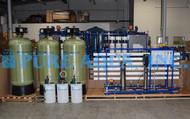 Unidade Comercial de Osmose Reversa de Água Salobra 27,000 GPD - Argélia
