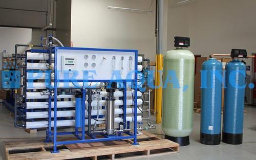 Máquina Comercial de Osmose Reversa 24,000 GPD - China