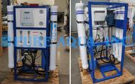 Máquina Comercial de Osmose Reversa 12,000 GPD - EUA