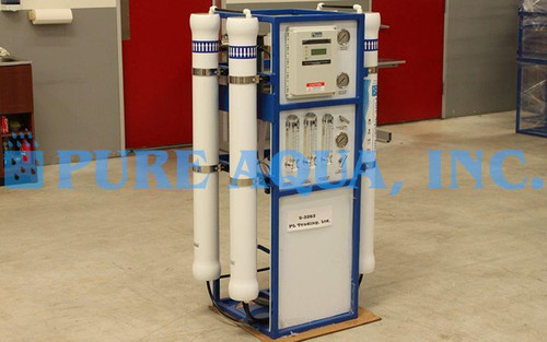 Sistema Comercial de Tratamento de Água por Osmose Reversa 6,000 GPD - Polónia