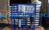 Osmose Reversa de Passagem Dupla 27,000 GPD para Vapor de Alimentação da Caldeira - EUA
