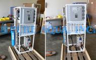 Sistema de Osmose Reversa por Eletrodeionização 600 GPD - Jordânia