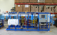 Osmose Reversa Industrial de Água Salobra 2X 36,000 GPD - Iêmen