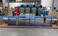 Osmose Reversa Industrial de Água Salobra 43,000 GPD - Azerbaijão