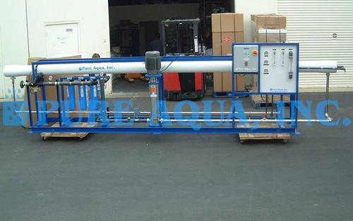 Máquina Industrial de Osmose Reversa de Água Salobra 43,000 GPD - Tunísia