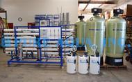 Osmose Reversa para Remoção de Flúor 32,000 GPD - Djibuti