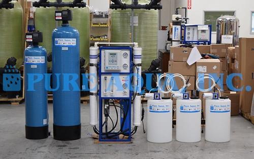 Conjunto de Osmose Reversa de Água Salobra 9,000 GPD - Gana