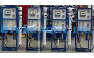 Dispositivos de Osmose Reversa de Água Salobra 4x1,500 GPD - EAU