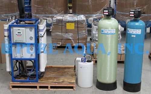 Sistema de Filtragem por Osmose Reversa 15,000 GPD - Porto Rico