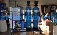 Sistema de Osmose Inversa e Sistema de Troca Iónica Deionizante 4,500 GPD - El Salvador