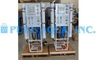 Sistema de Osmose Reversa 4X 7,200 GPD - Canadá