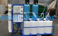 Unidade Comercial de Osmose Reversa de Água Salobra 6,000 GPD - Líbia