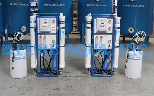 Filtros Comerciais de Osmose Reversa de Água Salobra 2 x 9,000 GPD - Filipinas
