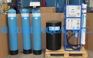 Máquina Comercial de Osmose Reversa para a Lavagem de Automóveis (Redução do Cálcio / Magnésio) - 3,000 GPD - EUA