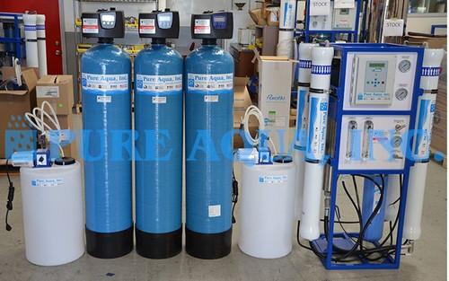 Equipamento de Purificação de Água por Osmose Reversa 6,000 GPD - Quênia