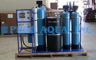 Sistema de Osmose Reversa de Água Salobra com Suporte Montado 1,500 GPD - EUA
