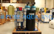 Sistema de Osmose Reversa Comercial Montado em Suporte 9,000 GPD - Canadá