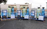 Sistemas de Osmose Reversa Comercial Montados em Suporte 15,000 GPD - Filipinas