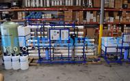 Planta de Osmose Reversa de Água Altamente Salobra 10,000 GPD - EUA