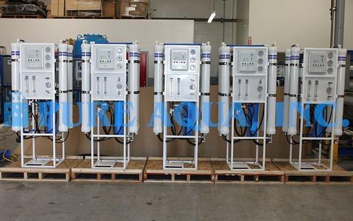 Conjunto de Osmose Reversa de Água da Torneira 3 x 9,000 GPD & 2 x 7,200 GPD - Canadá