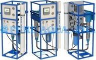 Dispositivos de Osmose Reversa de Água do Poço 6x 1,500 GPD - EAU