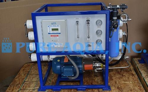 Unidade Comercial de Osmose Reversa de Água do Mar 3,800 GPD - Bermuda